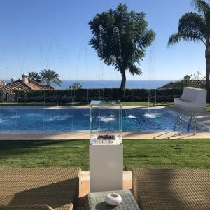 Estufa de exterior Muztag Ibiza Marbella